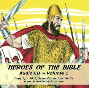 Heroes of the Bible, volume 1, cd cover