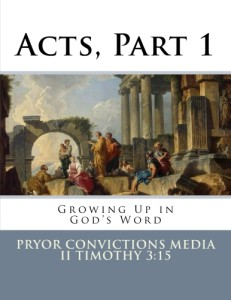 Book of Acts, Part 1