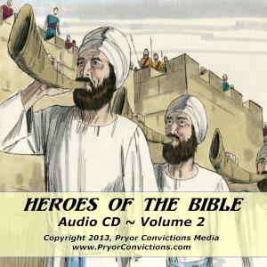 Heroes of the Bible, vol 2 cover