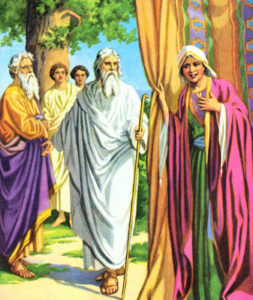 abraham and guests